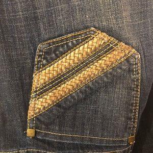 Chico's Platinum Flare Jeans Size 2.5